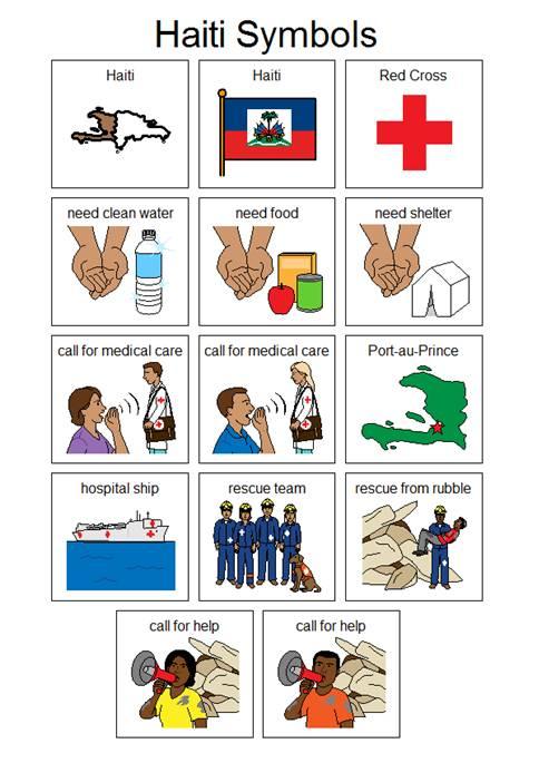 Haiti Symbols Inclusive Learning Conferenece Virtual Registrations