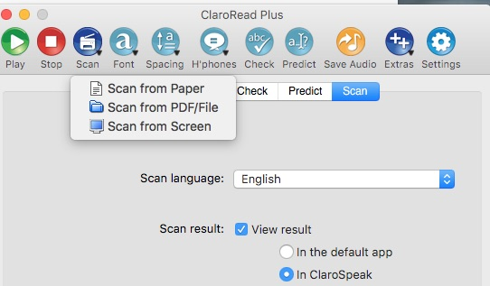 ClaroRead Plus for Mac OS V6 3 Review   The Spectronics Blog