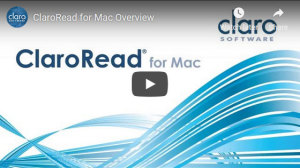 ClaroRead for Mac Overview video