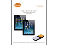 Cover page image for the iOS7 Switch Control guide