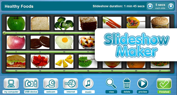 An image of the Slideshow Maker