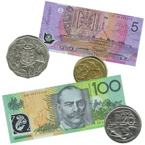 Money Coins And Notes