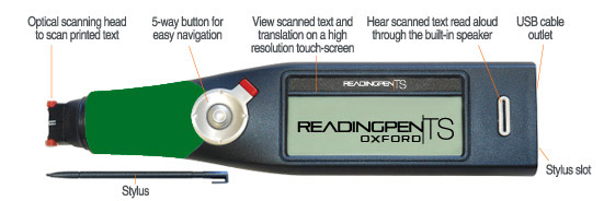 ReadingPen TS Oxford and annotations